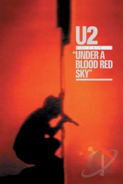 U2 - Under a Blood Red Sky: Live at Red Rocks DVD Cover Art
