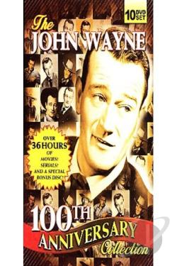 John Wayne 100th Anniversary Collection DVD Cover Art