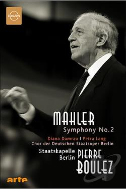 Mahler - Symphony No. 2 in C Minor Resurrection DVD Cover Art