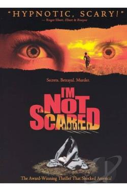 I'm Not Scared DVD Cover Art