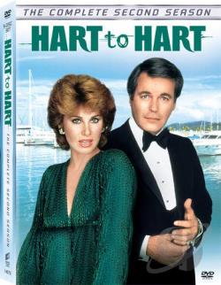 Hart To Hart - The Complete Second Season DVD Cover Art