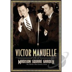 Victor Manuelle - Live At Madison Square Garden DVD Cover Art