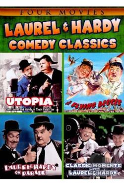 Laurel & Hardy Comedy Classics DVD Cover Art