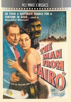 Man from Cairo DVD Cover Art