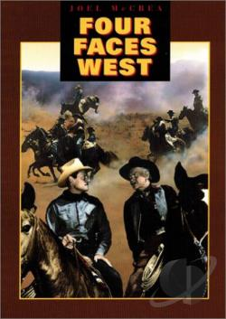 Four Faces West DVD Cover Art