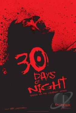 30 Days of Night DVD Cover Art