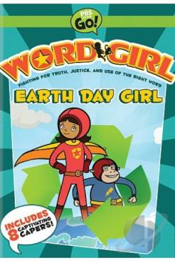 WordGirl: Earth Day Girl DVD Cover Art