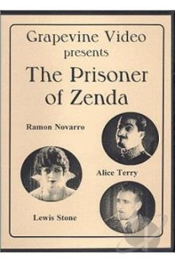 Prisoner of Zenda DVD Cover Art