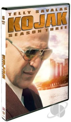 Kojak: Season Three DVD Cover Art