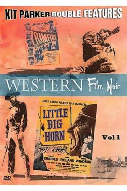 Western Film Noir - Double Feature Vol. 1 DVD Cover Art