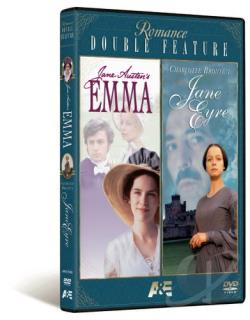 Romance Double Feature: Emma/Jane Eyre DVD Cover Art