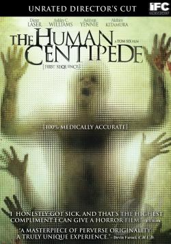 Human Centipede DVD Cover Art