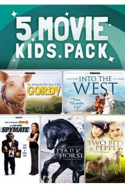 5 Movie Kids Pack DVD Cover Art