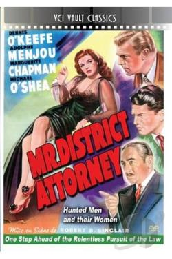 Mr. District Attorney DVD Cover Art