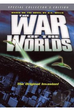 War of the Worlds DVD Cover Art