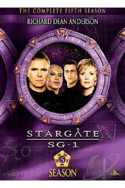 Stargate SG-1 - The Complete Fifth Season DVD Cover Art