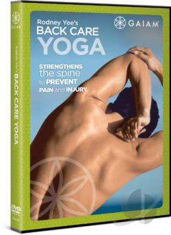 Yoga Journal's Yoga for Back Care DVD Cover Art