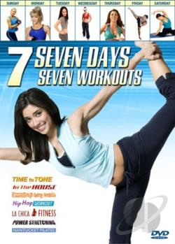 Seven Days, Seven Workouts DVD Cover Art
