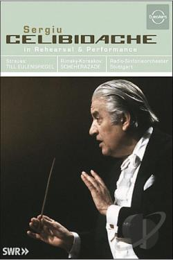 Sergiu Celibidache - In Rehearsal & Performance DVD Cover Art