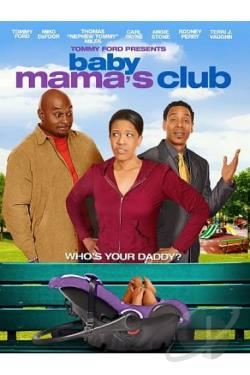 Baby Mama's Club DVD Cover Art