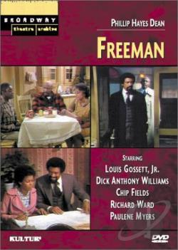 Broadway Theatre Archive - Freeman DVD Cover Art