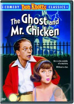 Ghost and Mr. Chicken DVD Cover Art