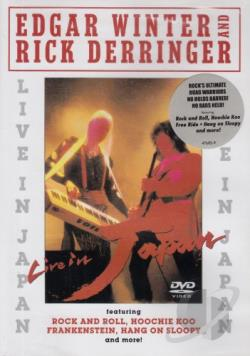 Edgar Winter & Rick Derringer - Live in Japan DVD Cover Art