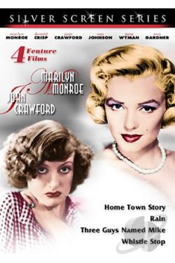 Silver Screen Series Vol.3 - 4 Feature Films DVD Cover Art
