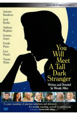 You Will Meet a Tall Dark Stranger DVD Cover Art