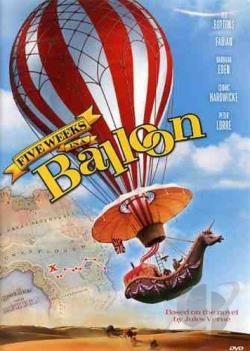 Five Weeks in a Balloon DVD Cover Art