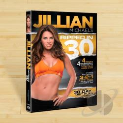 Jillian Michaels: Ripped in 30 DVD Cover Art