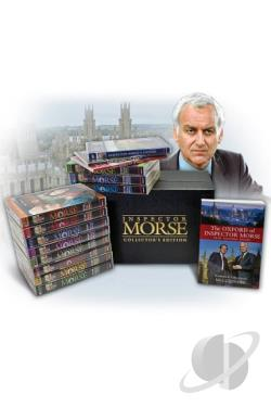 Inspector Morse: 25th Anniversary Collection DVD Cover Art