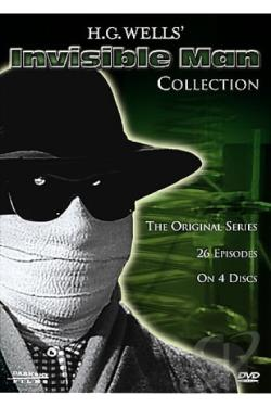 HG Wells' Invisible Man - The Complete Series DVD Cover Art