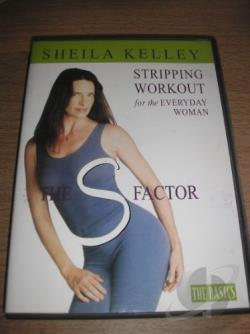 S Factor: Stripping Workout For The Everyday Woman DVD Cover Art