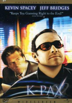 K-Pax DVD Cover Art