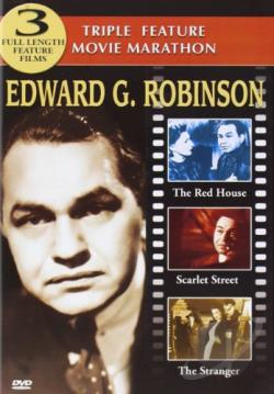 Edward G. Robinson DVD Triple Feature: The Red House / Scarlet Street / The Stranger DVD Cover Art