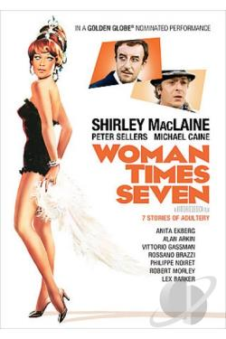Woman Times Seven DVD Cover Art