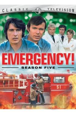 Emergency! - The Complete Fifth Season DVD Cover Art