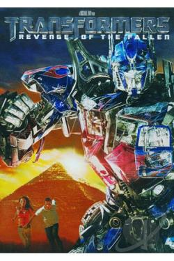 Transformers: Revenge of the Fallen DVD Cover Art