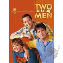 Two & A Half Men-Season 5 DVD Cover Art