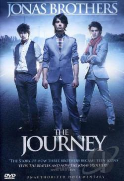 Jonas Brothers: The Journey DVD Cover Art