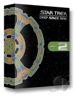 Star Trek: Deep Space Nine - Season 2 DVD Cover Art