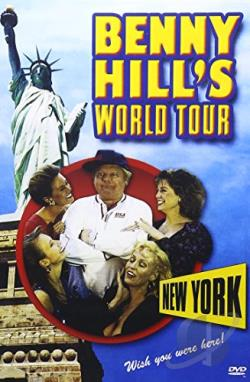 Benny Hill's World Tour DVD Cover Art