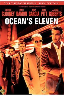Ocean's Eleven DVD Cover Art
