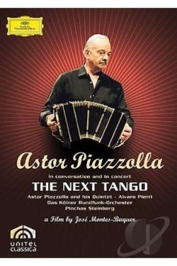 Piazolla/Pierri/Steinberg/CRO: The Next Tango DVD Cover Art