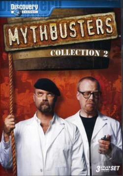 MythBusters - Collection 2 DVD Cover Art