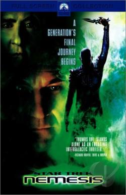 Star Trek: Nemesis DVD Cover Art
