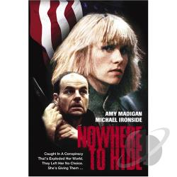 Nowhere To Hide DVD Cover Art