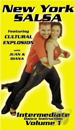 New York Salsa - Intermediate Dance Instruction Vol. 1 DVD Cover Art