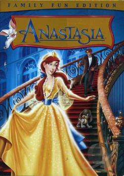 Anastasia DVD Cover Art